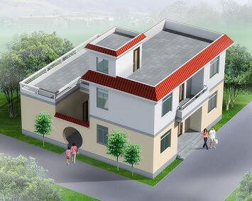 农村别墅建筑设计效果图合集