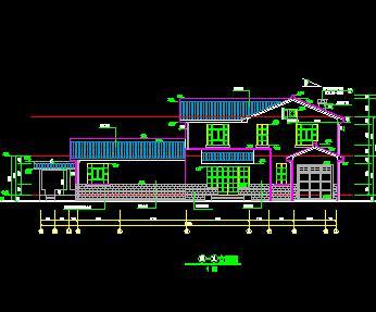 某二层中式独栋别墅全套施工图纸(含建筑结构水电)