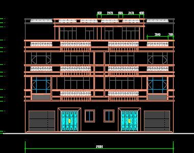 三层别墅建筑施工图纸