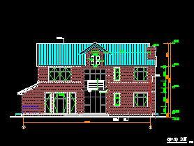 楼盘带地下层豪华别墅建筑设计图纸免费下载武汉二层别墅新建图片
