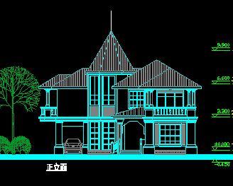 二,三层独栋别墅建筑设计图纸(10套)