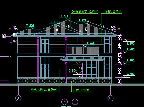 建筑设计 03  建筑图纸 03  别墅图纸 03 正文   资料大小:12.