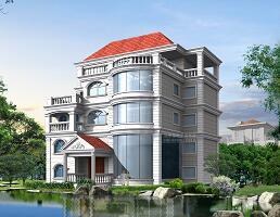 四层带夹层独栋图纸建筑设计别墅免费下载开封七盛角建筑设计风格图片