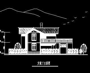 两层川南别墅农村游艇图纸建筑设计风格免费下图纸20民居v别墅米图片