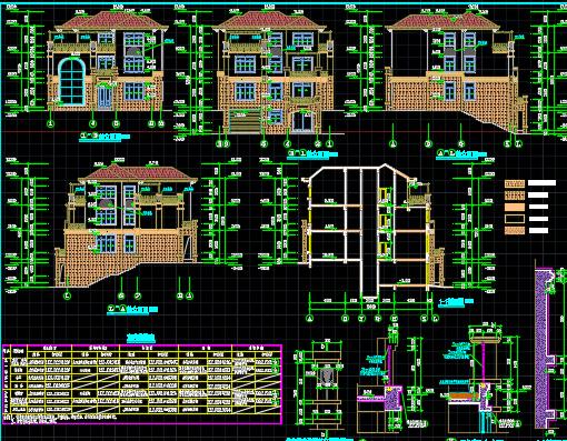 面积指标:占地面积为178.48平方米;总建筑面积为504.7平方米; 建筑性质:别墅。 建筑特征:建筑层数:4层; 建筑层高:负一层:3.0米;一层:3.6米;二层:3.3米;三层:3.4米。 建筑总高度:13.80米(室外地坪至结构屋面)。 建筑主要功能:负一层为车库、健身房,一层至三层均为住宅; 建筑耐火等级:二级; 结构形式:异形柱框架结构 建筑使用年限:根据《建筑结构可靠度设计统一标准》GB50068-2001,工程合理使用年限为50年。 建筑抗震设防烈度:抗震设防烈度为6度 170平方米4层别