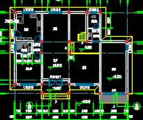 三层别墅建筑施工图纸(含结构水电效果图)