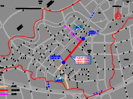 截污管网建设工程道路、交通施工图纸