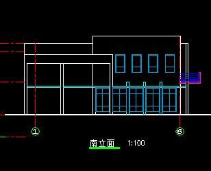 二层带地下室小型别墅建筑设计图纸
