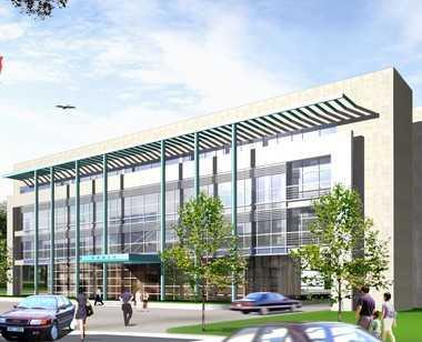 某单位办公楼建筑概念方案文本(含素模及素材)