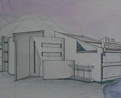 某山地旅馆设计方案文本免费下载 - 建筑方案文本图片