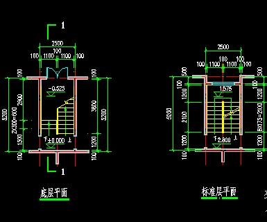 三层楼楼楼梯设计图展示