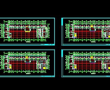 中学教学楼平面图