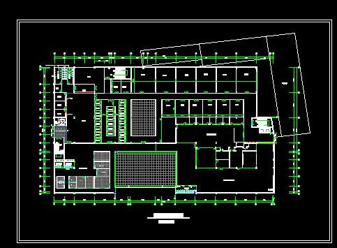 商场规划平面设计图