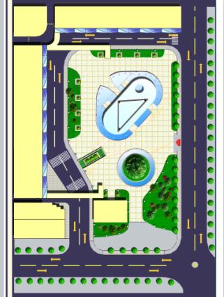 某步行街景观规划设计文本