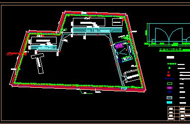 高速公路方案图纸施工图(含工程、v方案房建)免天正图纸切割图片