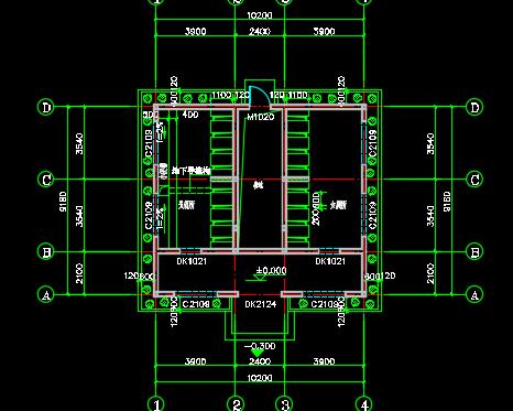 公厕建筑施工图纸