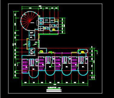 某幼儿园建筑平面图