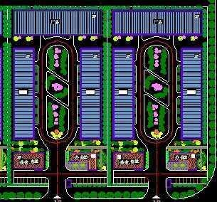 某标准化厂房平面图免费下载 建筑规划图