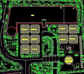 幼儿园施工设计图