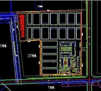 工业厂房规划设计总图图片