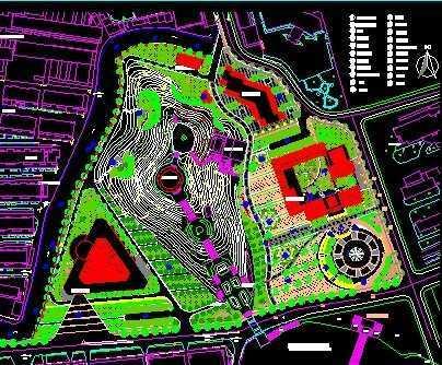 陵园设计平面图图片