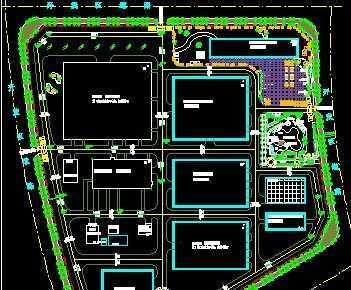 药厂规划设计平面图
