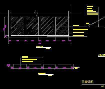 雨棚施工图免费下载 - 钢结构 - 土木工程网