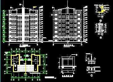 住宅建筑设计图