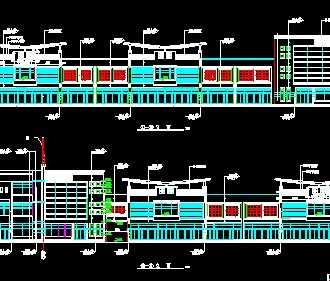 某二层临街商业楼建筑施工图