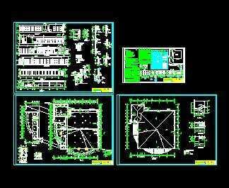 某单位职工食堂建筑设计图