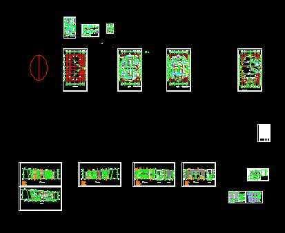 某学校报告厅及阶梯教室设计图