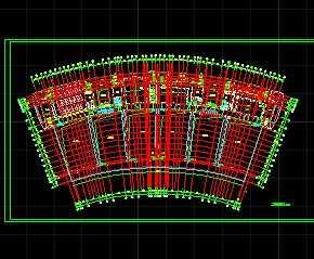某会展中心施工方案图