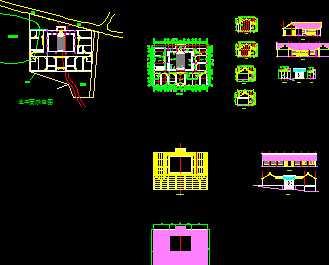 某四合院建筑设计图