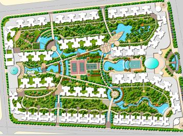 小区规划平面图_小区规划平面图素材