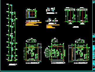 电梯结构设计图