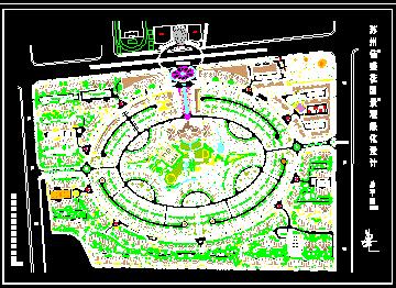 花园景观绿化设计总平面图