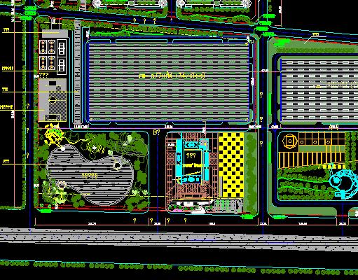 某工业园总平面设计图
