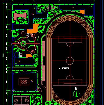 某学校建筑规划图纸