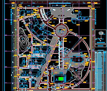 某新校区建筑规划图纸