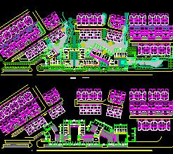 某住宅区建筑规划设计图纸