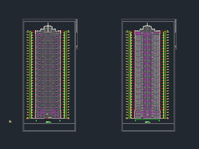 高级住宅区规划设计方案图(含效果图)