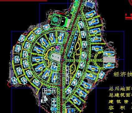 某开发区规划总平面图