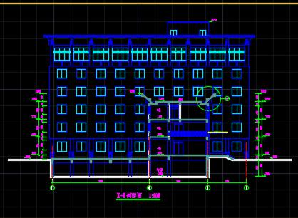 某六层办公楼建筑施工图纸