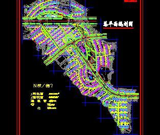 220720平米技术开发区规划设计图纸