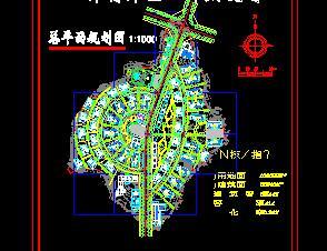 102022平米技术开发区规划设计图纸