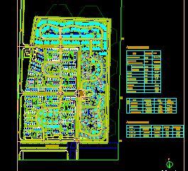 314471平米别墅区修建性详细规划设计图纸