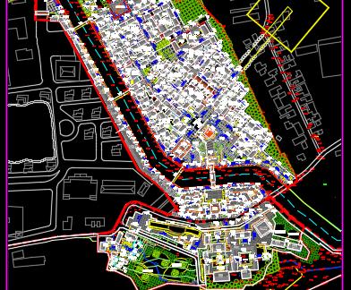 古镇规划总平面图