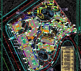 80000.42平米行政办公区规划设计图纸