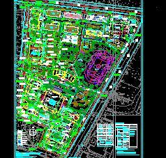 119267平米国际交流中心规划设计图纸