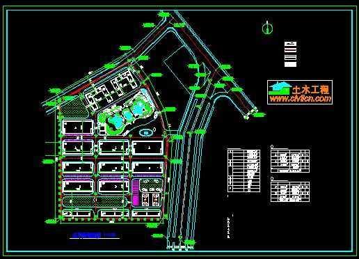 某厂区规划图